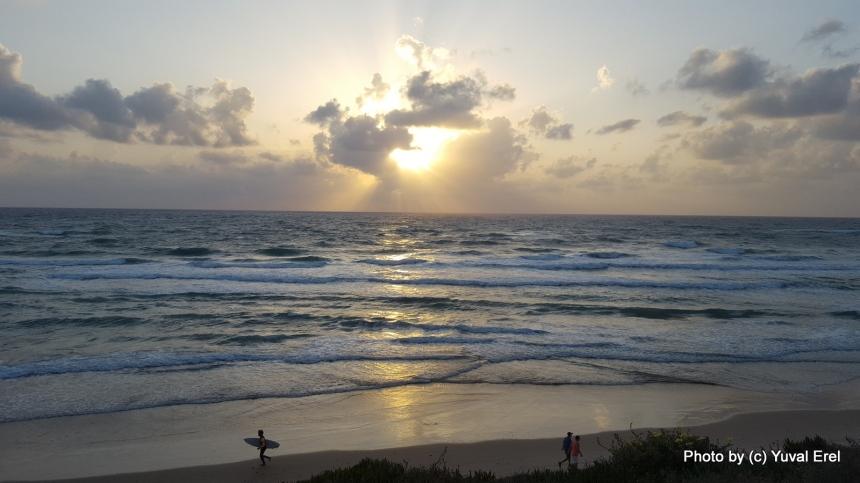 מנגינת הים. צילום: יובל אראל