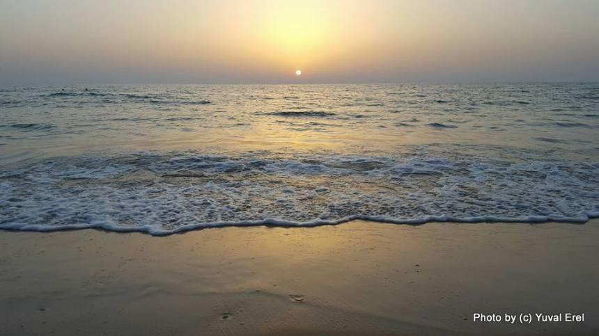 חם בים. צילום: יובל אראל