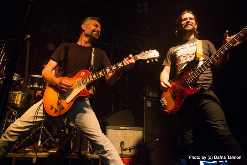פיטר ומאור, חברים של דן. צילום: דפנה טלמון