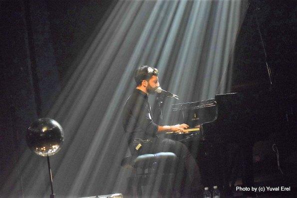 אליעד נחום בפסטיבל הפסנתר. צילום: יובל אראל