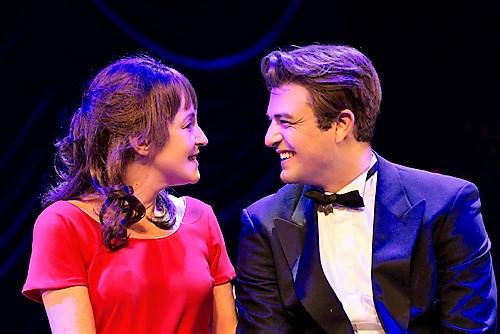 מיה ועמוס, זוג על הבמה. צילום: דניאל קמינסקי