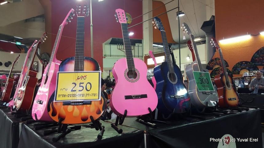 נגני נגני גיטרה. צילום: יובל אראל