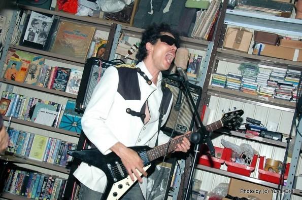 צ'רלי מגירה, הצימר, ספטמבר 2009. צילום: יובל אראל