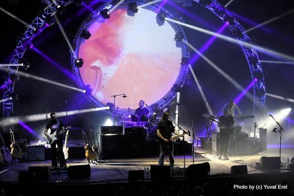 UK Pink Floyd Experience בתל אביב. צילום: יובל אראל