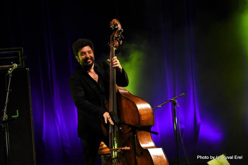 עומר אביטל, ג'אז במשכן. צילום: יובל אראל