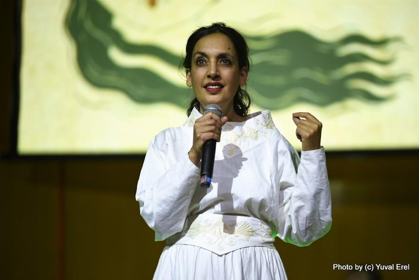 ויקטוריה חנה, בת הרב שרה תהלים. צילום: יובל אראל