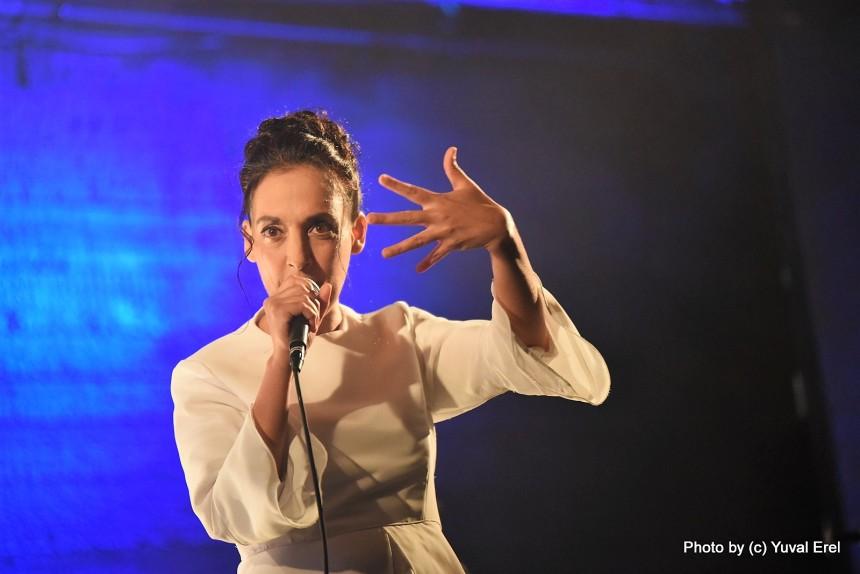 ויקטוריה חנה, השקת אלבום בכורה. צילום: יובל אראל