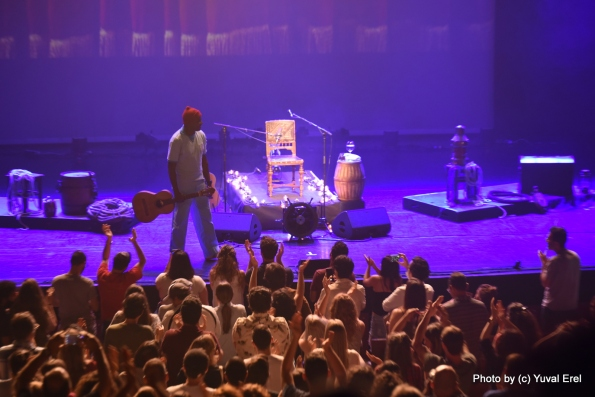 הקהל צמא להאזנה, סו ג'ורג'. צילום: יובל אראל