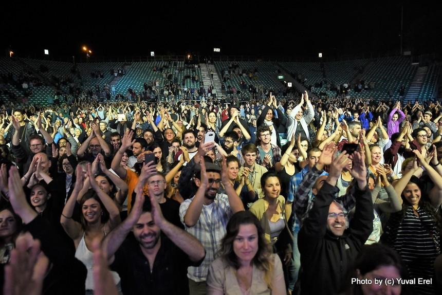 גרוב להמונים, פסטיבל ישראל. צילום: יובל אראל