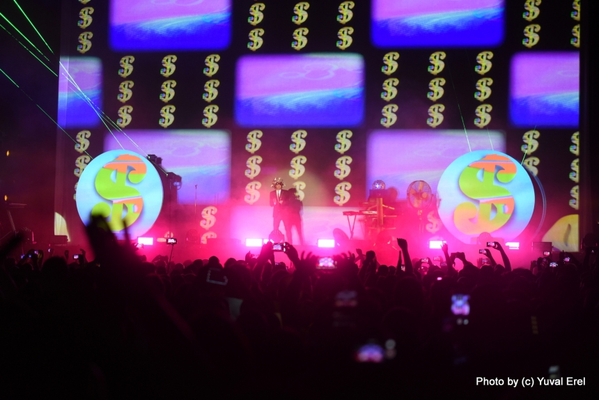 צילום: יובל אראל .Pet Shop Boys in Tel Aviv