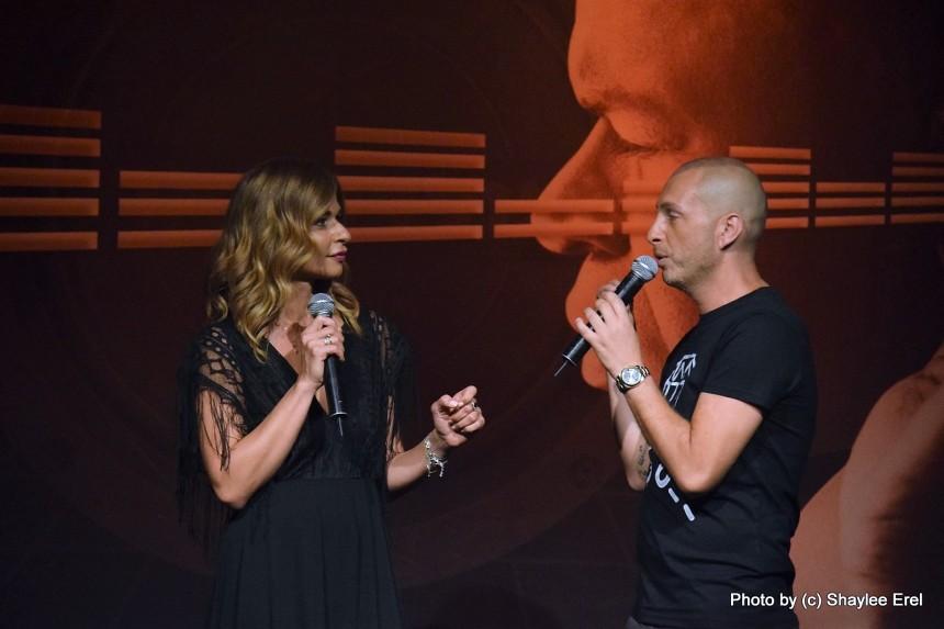 עדי לאון ואורנה דץ, להיות זמרת. צילום: שילי אראל