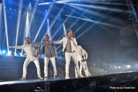 Backstreet Boys. צילום: יובל אראל