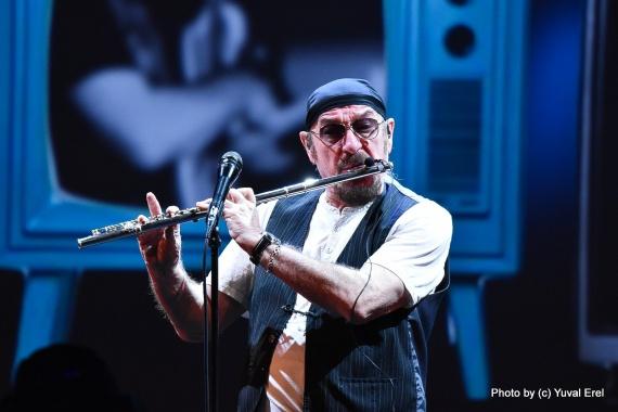 ג'טרו טאל, חמישים שנה. צילום יובל אראל