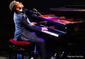 שלומי שבן בפסטיבל הפסנתר 2018. צילום טוני פיין