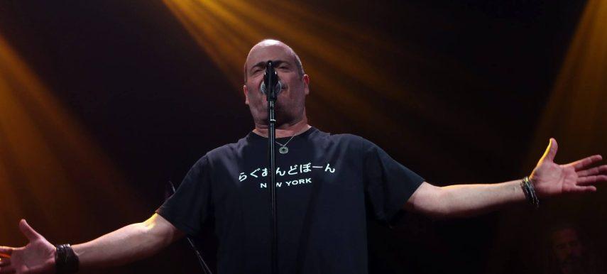 המופע של אדם בזאפה הרצליה. צילום: שירלי אופטובסקי