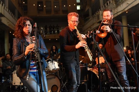 ג'אז בתדר -ג'אם סודי עם אורחים מיוחדים מאוד מפסטיבל הג'אז ירושלים!. צילום יובל אראל