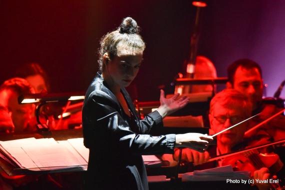 לילה אלקטרוני באופרה. צילום יובל אראל