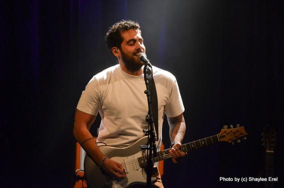 עומר נצר בזאפה תל אביב. צילום שילי אראל