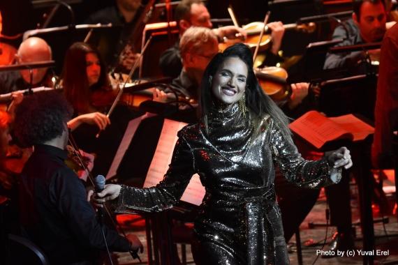 מארינה מקסימיליאן באופרה. צילום יובל אראל