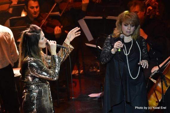 מארינה מקסימיליאן ואמה באופרה. צילום יובל אראל