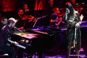 מארינה מקסימיליאן ושלומי שבן באופרה. צילום יובל אראל